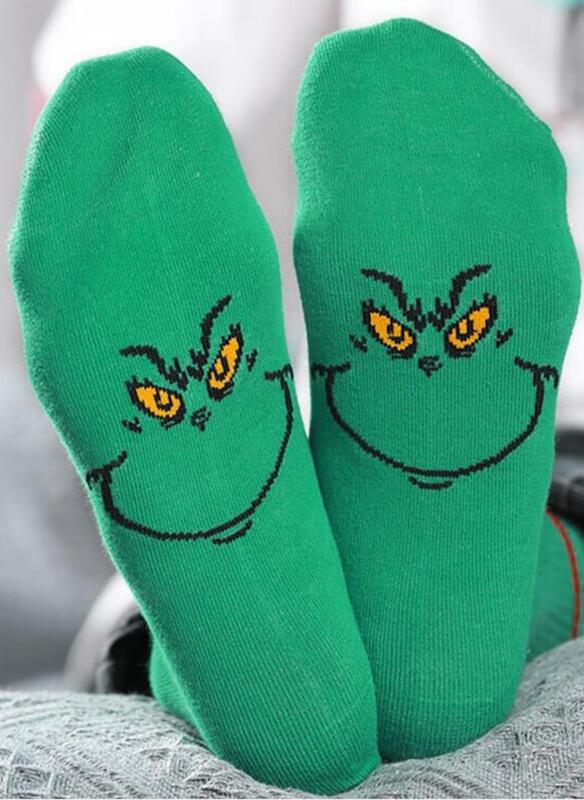 Print/Animal Print/Colorful Comfortable/Christmas/Crew Socks/Unisex Socks
