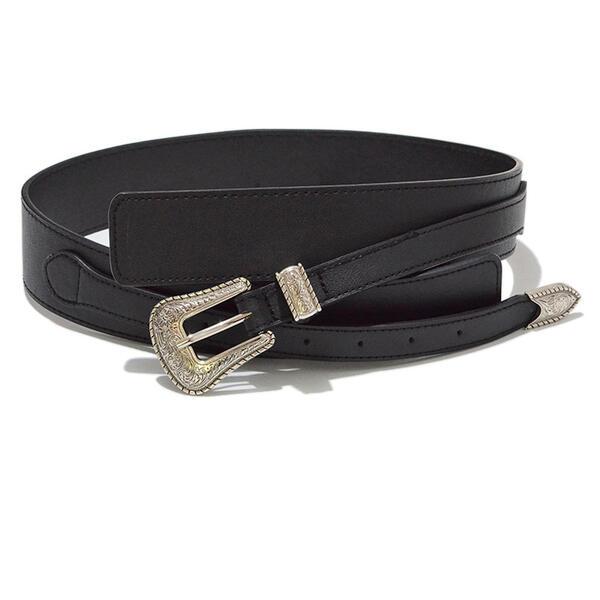 Vintage Elegant Alloy PU Women's Belts