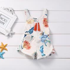baby Spotprent Print Katoen Jumpsuit