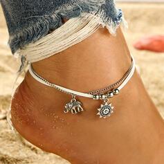 Unique Romantic Alloy Women's Ladies' Unisex Girl's Anklets