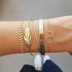 Uniek Prachtige Stijlvol Legering Sieraden Sets Armbanden Strand sieraden (Set van 5 paren)
