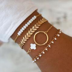 Uniek Prachtige Stijlvol Legering Sieraden Sets Armbanden Strand sieraden (Set van 4 paar)