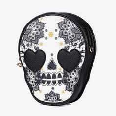 Commuting/Splice Color/Halloween/Skull Crossbody Bags/Shoulder Bags/Wallets & Wristlets/Hobo Bags