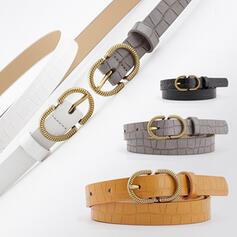 Unique Fashionable Vintage Classic Simple Leatherette Women's Belts 1 PC