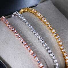 Metal Copper With Zircon Bracelets