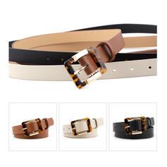 Unique Stylish Attractive Charming Elegant Artistic Delicate Leatherette Women's Belts 1 PC
