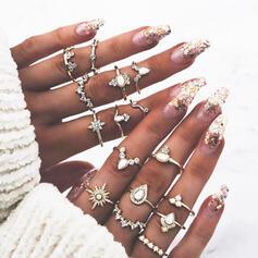 Boho Heetste Legering Ringen Strand sieraden (Set van 16)