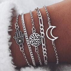 Alloy Jewelry Sets Bracelets (Set of 5 pairs)