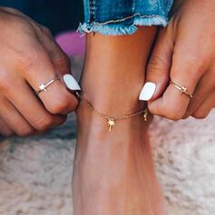 Simple Fruit Alloy Women's Beach Jewelry Anklets