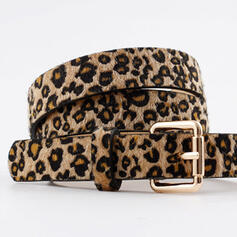 Stylish Vintage Simple Metal Buckle Leatherette Women's Belts 1 PC