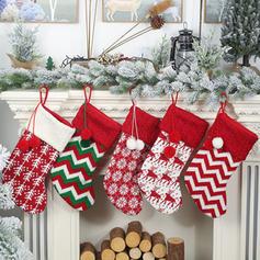 Kerstmis vrolijk kerstfeest opknoping Cadeau tas Gebreid