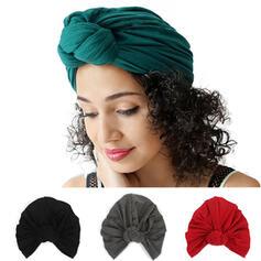 Women's Simple Polyester Turban Hat