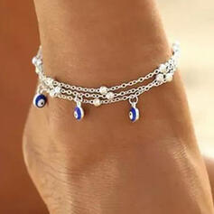 Stylish Delicate Romantic Alloy With Beads Women's Ladies' Girl's Anklets