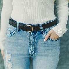 Classic Elegant Alloy PU Women's Belts