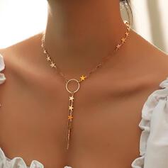 Simple Stars Alloy Women's Ladies' Necklaces