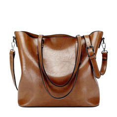 Elegant/Vintga/Multi-functional/Simple/Super Convenient Tote Bags/Shoulder Bags/Hobo Bags/Top Handle Bags