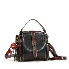 In de mode/Splice kleur Crossbody Tassen
