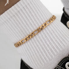 Fashionable Sexy Vintage Classic Alloy With Gold Plated Women's Ladies' Anklets 1 PC