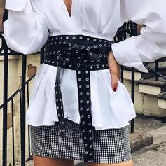 Fashionable Sexy Alloy PU Women's Belts