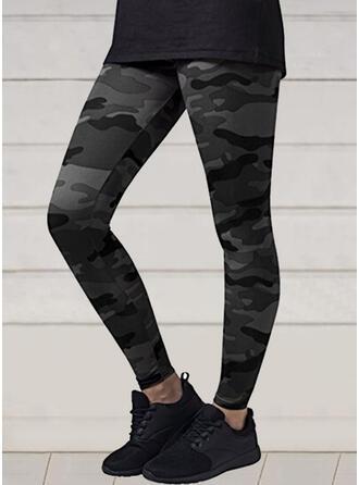 Camouflage Casual Sexy sportieve Yoga Leggings