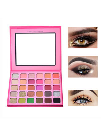 30-color Matte Shimmer Eyeshadow Palette With Box