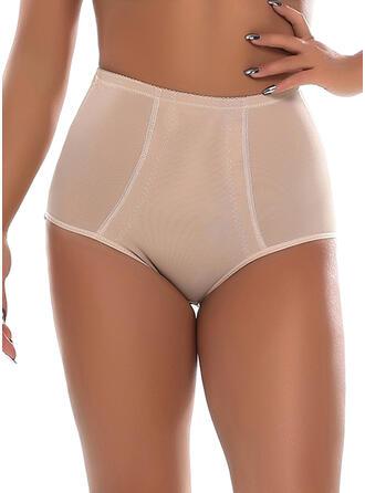 Silikon Nylon Chinlon Effen kleur Lapwerk Mesh Shapewear