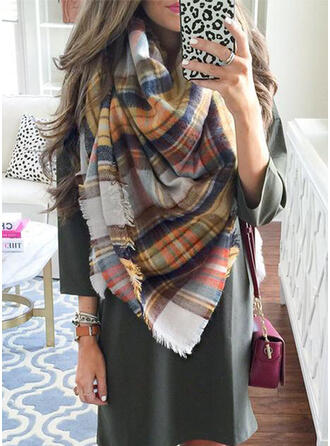 Plaid/Colorful fashion/Comfortable/Multi-functional Scarf