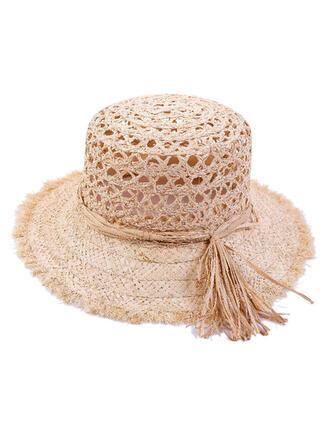 Ladies' Beautiful/Classic/Elegant Raffia Straw Straw Hats
