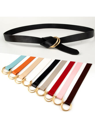 Unique Beautiful Fashionable Exquisite Stylish Vintage Classic Leatherette Women's Belts 1 PC