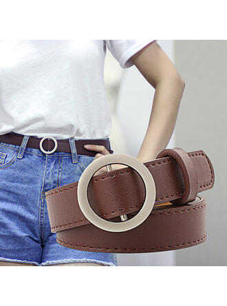 Unique Beautiful Fashionable Vintage Classic Charming Elegant Leatherette Women's Belts 1 PC