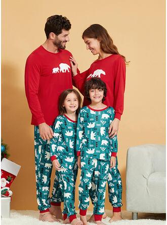 Bear Voor Gezinnen Pyjama