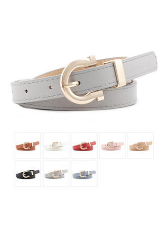 Unique Beautiful Fashionable Stylish Vintage Classic Simple Boho Leatherette Women's Belts 1 PC
