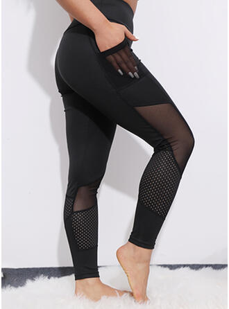 Solide Kant Casual sportieve Yoga Leggings