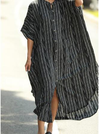 Print V-hals Mooi Aantrekkelijk Het oog Springende Badjassen Badpakken