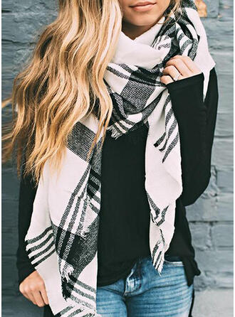 Plaid fashion/Comfortable/Multi-functional Scarf