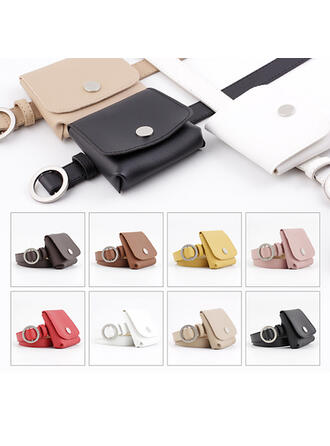 Unique Beautiful Fashionable Chic Stylish Vintage Classic Leatherette Women's Belts 1 PC