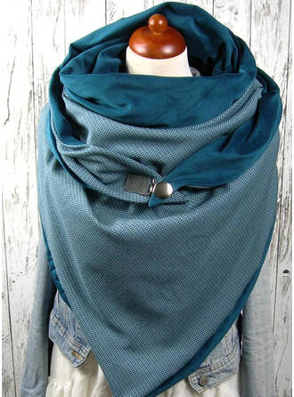 Solid Color Oversized/fashion/simple Scarf