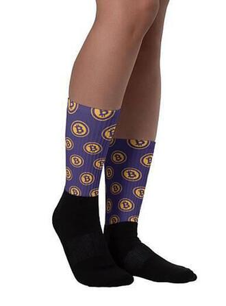 Stitching/Print Comfortable/Women's/Crew Socks Socks