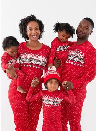 Print Passen bij Voor Gezinnen Kerst Pyjamas