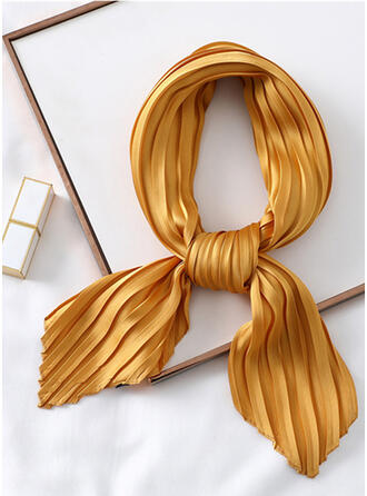 Solid Color attractive/Skin-Friendly/Simple Style Square scarf/Silk Scarf