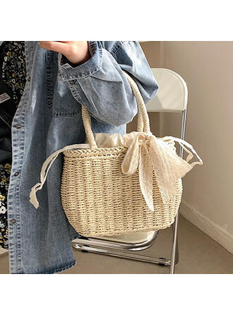 Braided Top Handle Bags