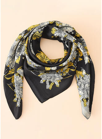 Print attractive/Skin-Friendly/Simple Style Square scarf