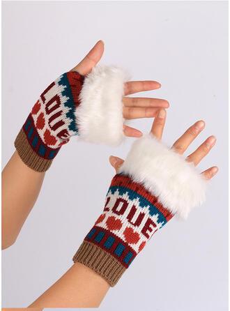 Hechten/Kerstmis Stijl Huidvriendelijk/Meerkleurige handschoenen
