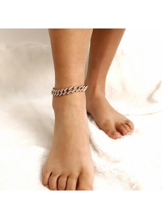 Unique Stylish Metal With Gold Plated Women's Ladies' Unisex Girl's Anklets