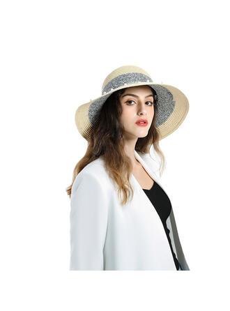 Ladies' Beautiful/Classic/Elegant Raffia With Pearl Straw Hats