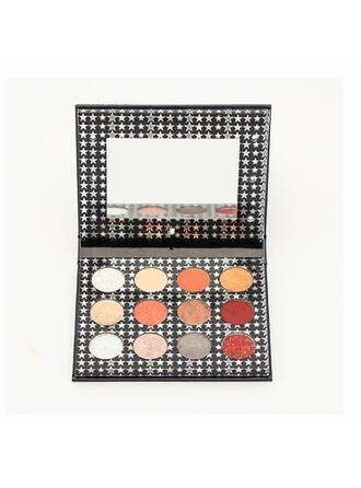 12- color Shimmer Eyeshadow Palette With Box