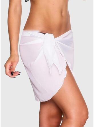 Tassels Strapless Elegant Casual Bottoms Swimsuits