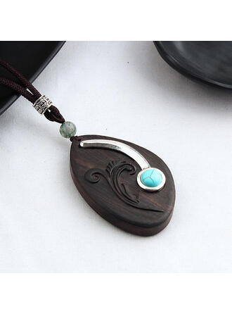 Wood Women's Ladies' Girl's Necklaces