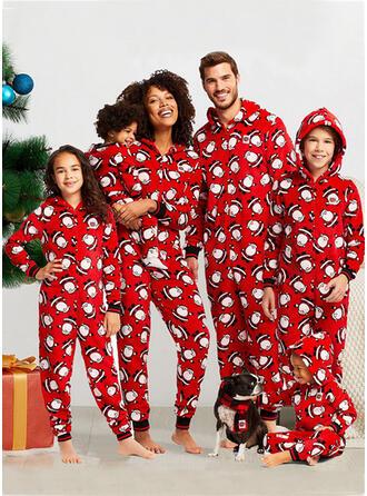 De Kerstman Voor Gezinnen Kerst Pyjamas