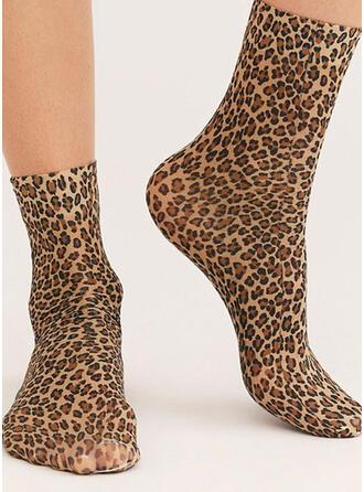 Leopard Breathable/Women's/Crew Socks Socks